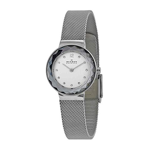 Skagen Women's 456SSS Leonora Stainless Steel Mesh Watch