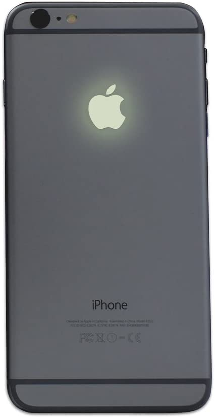 Glow in the Dark iPhone Apple Color Changer Decal - Vinyl Decal Sticker Phone