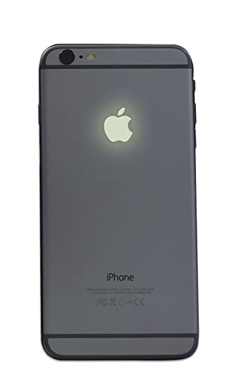 Amazon com glow in the dark iphone apple color changer decal vinyl decal sticker phone everything else