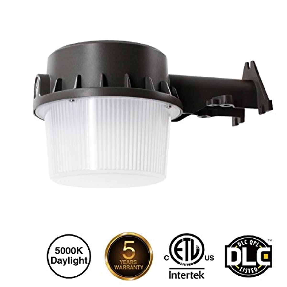 Zjojo Barn Light: Outdoor LED Barn Yard Street Security Light Dusk To Dawn