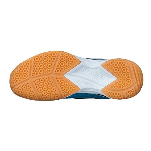 Homme Badminton Blanc pour 35 Chaussures Power Yonex Technologie de Cushion IwxTEC