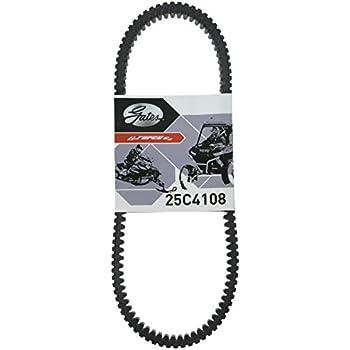 nobrandname 25C4108 G-Force Carbon Cord CVT Belt