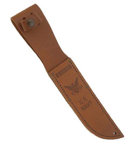 Full-size Brown Leather USN Sheath