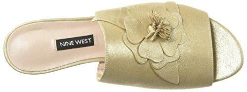 West Sandal Lucienne Nine Women's Gold Light 6xZdvdt