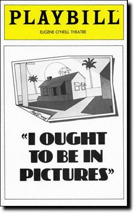 Bill Macy Replacement lead in this Brand New Playbill from I Ought to Be in Pictures which ran at the Eugene O'Neill Theatre starring Bill Macy Dinah Manoff Joyce Van - Macys At Brands
