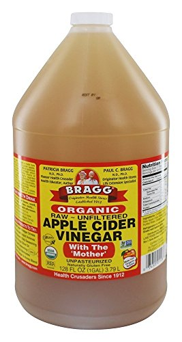 Bragg - Organic Apple Cider Vinegar Gallon with 'Mother' - 128 oz.