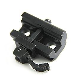 JINSE QD Quick Detach Cam Lock 20mm Picatinny Weaver Rails Bipod Sling Adapter