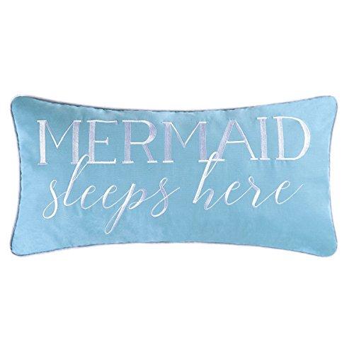 Mermaid Sleeps Here Pillow -