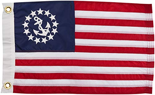 - Taylor Made Products 8136 US Yacht Ensign Sewn Boat Flag 24 inch x 36 inch