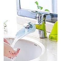 Fligatto Joli extenseur de robinet pour enfant bébé Pour lavabo de salle de bain En forme de grenouille de bande dessinée