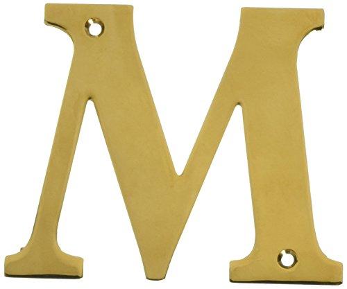 (Deltana RL4M-CR003 4-Inch Residential Letter M House Board)