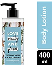 Love Beauty And Planet Body Lotion Coconut Water & Mimosa Flower 400 mL