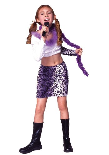 Rock Star Costume With Skirt (Female Rock Star Costume)