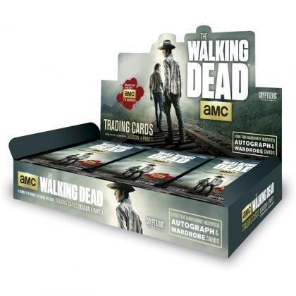 4 Season Trading Cards Box - 2016 Cryptozoic 'The Walking Dead' (Season 4, Part 1) Trading Card box