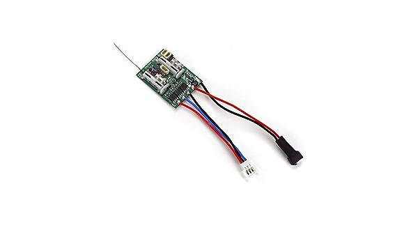 Amazon Com Ar6400lbl Dsm2 6ch Ultra Micro Receiver Bl Esc Toys Games