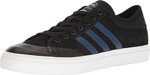 best service 4f3b8 f9928 Galleon - Adidas Skateboarding Unisex Matchcourt ADV Black Mystery Blue  White Athletic Shoe