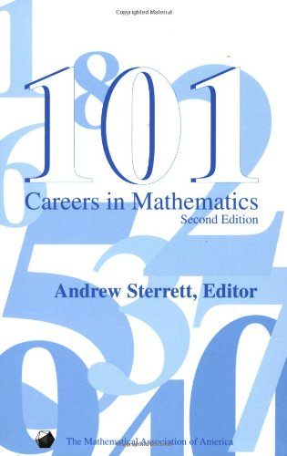 101 Careers in Mathematics - Second Edition