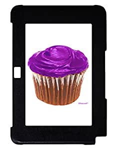 TooLoud Giant Bright Purple Cupcake Galaxy Note 10.1 Case