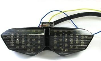 Smoke LED Brake Tail Light Turn Signal For Yamaha YZF R6 2003-2005 R6S 2006-2008