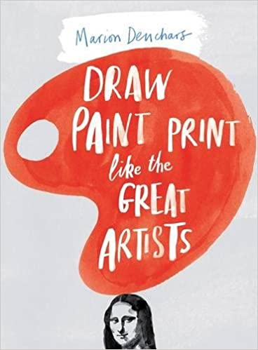 amazon draw paint print like the great artists marion deuchars