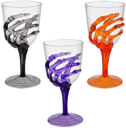 """Details about  /Plastic Goblets Lot of  Snakes Green Halloween cups 7.5/"""" tall x 3.5/"""" diam"""