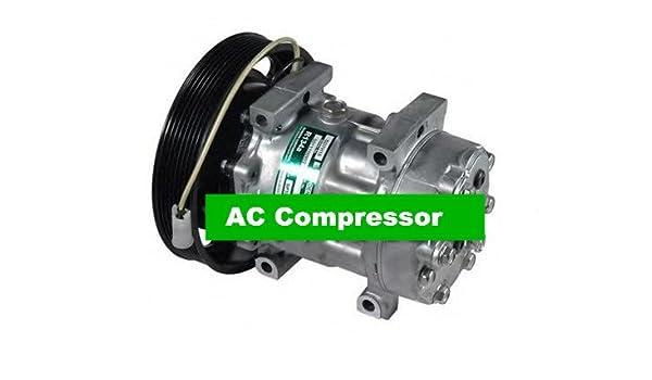 GOWE compresor de aire auto AC portátil refrigeración Sanden 7h15 para coche Volvo camión 24 V OEM # 20587125 85000458: Amazon.es: Bricolaje y herramientas