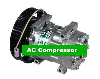 GOWE compresor de aire auto AC portátil refrigeración Sanden 7h15 para coche Volvo camión 24 V