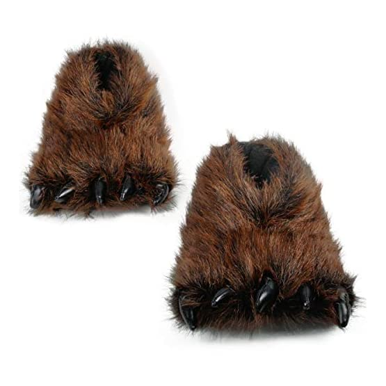 Bear Slippers With Claws | Fluffy Kawaii Slippers 1