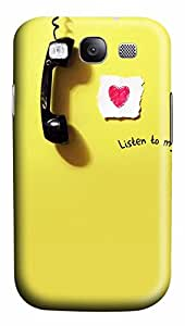 Samsung Galaxy S3 I9300 Cases & Covers - Listen PC Custom Soft Case Cover Protector for Samsung Galaxy S3 I9300