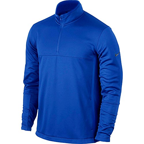 (NIKE Therma-FIT Men's Golf Cover-Up (Game Royal, Small))