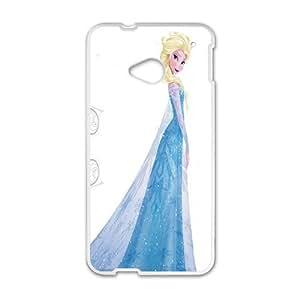 Frozen Queen Elsa White HTC M7 case