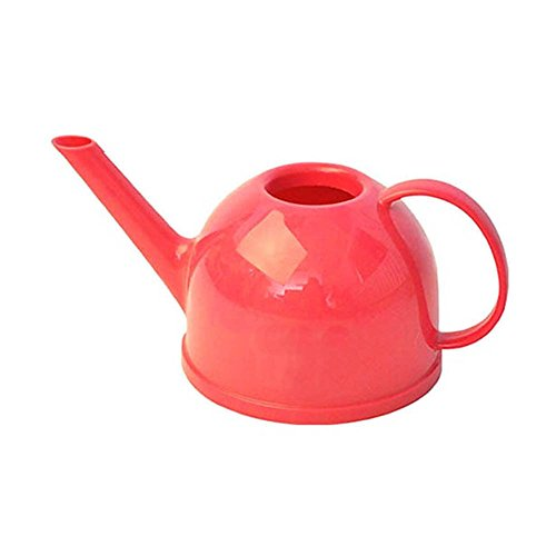 Calunce Lovely Teapot Shape 1.2L Candy Color Watering Can ,Pink