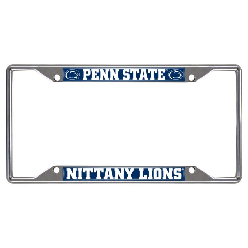 Penn State Nittany Lions Colored Metal License Plate Frame