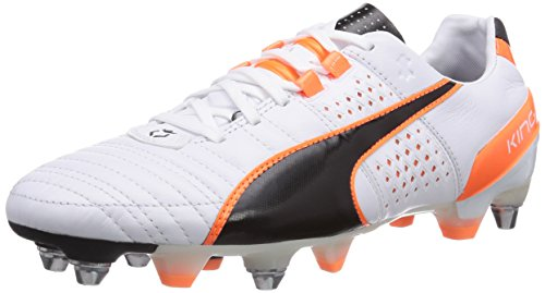 uomo Flash Orange II da scarpe fluo allenamento Puma black Weiß White King 02 Bianco SG Mixed Calcio FC8FZq6w