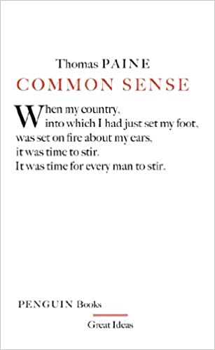 Common Sense (Penguin Great Ideas)