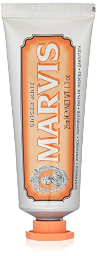 Marvis Ginger Mint Toothpaste, Travel Size 1.3 oz
