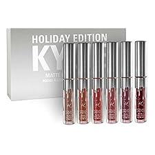 Holiday Kit Matte Liquid Lipsticks & Gloss (6)