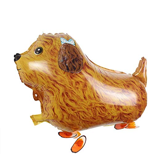 SET OF 10 PODDLE DOG WALKING ANIMAL BALLOON PETS AIR WALKERS - Walking Animal Balloons Pet Balloons - Birthday Party Supplies Kids Balloons Animal Theme Birthday Party Decorations -