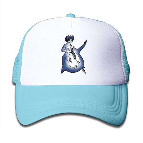 37972df1051 Mesh Baseball Caps Snapback Hat Shark with Spear Boys-Girl Adjustable.   6.00. Brand  P.Scott