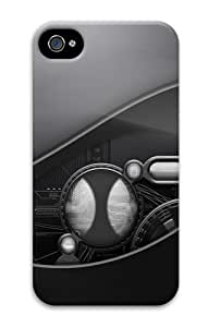 iPhone 4S Case, iPhone 4S Cases - Dark tech Polycarbonate Hard Case Cover for iPhone 4/4S