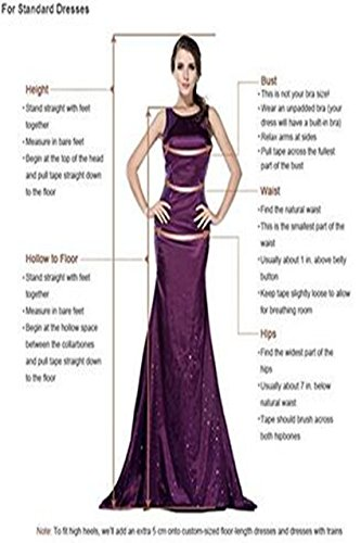 Langes Chiffon Homecoming Damen Brautjungfer Kleid Kleid Party Kleid emmani Trägerloses Kleid Violett T5Ftq