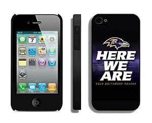 NFL Baltimore Ravens iPhone 4 4S Case 18 iPhone 4s Case
