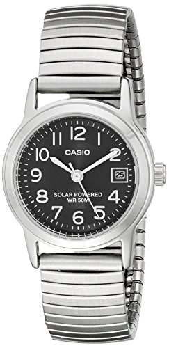 Casio Womens LTP S100E 1BVCF Easy Stainless