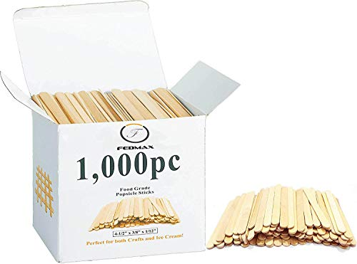 Popsicle Sticks, (1,000pc), 4-1/2