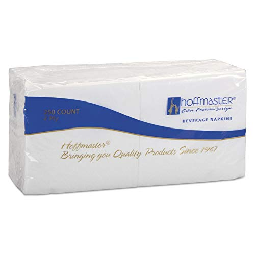An item of Hoffmaster Cocktail Napkins, White (1,000 ct.) - Discount on bulk ()