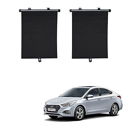 Accedre Car Side Window Roller Black Curtain Sunshades Set Of 2 Hyundai