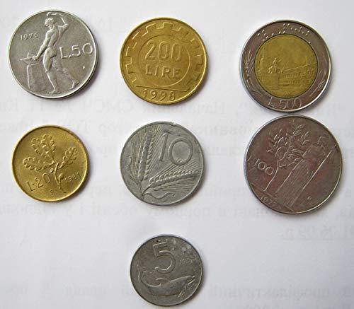 - IT 1971 Italian pre-euro coins lira Very Fine
