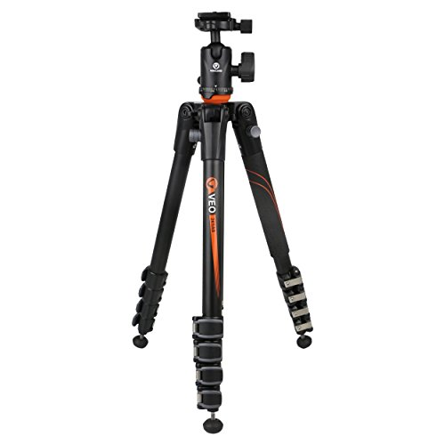 Vanguard VEO 265AB Aluminum Travel Tripod with Ball Head by Vanguard