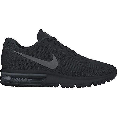 Nike Mens Air Max Sequent Scarpa Da Running Nero / Grigio Scuro Taglia 8 M Us