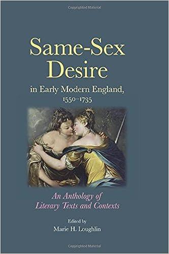 Descarga gratuita del libro epub. Same-sex desire in early modern England, 1550-1735: An anthology of literary texts and contexts 0719082072 (Literatura española) PDF